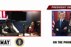President Obama on Sway In The Morning
