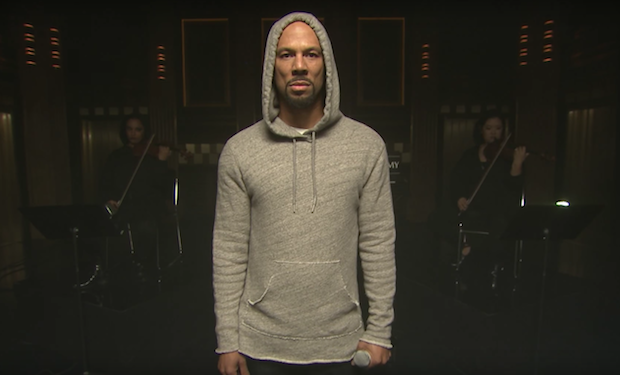 Watch Common's Powerful