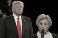 "Danny Elfman Added A Horror Score To ""Trump Stalking Hillary"" Debate Video"