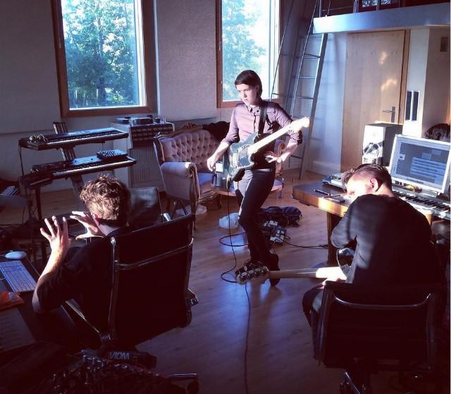 The XX in the studio