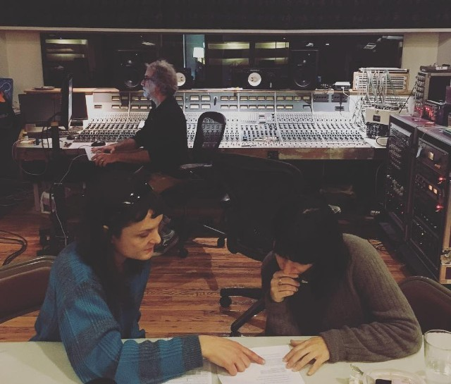 Land Of Talk Recording With Sharon Van Etten, Steve Shelley, John Agnello