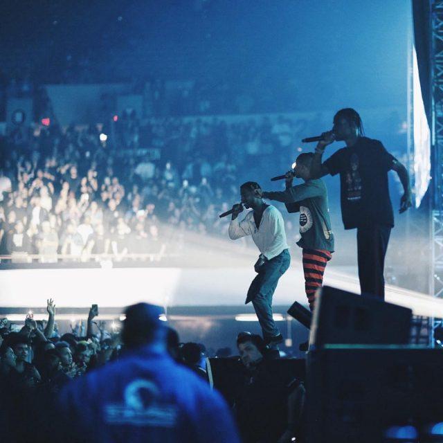 Kid Cudi, Pharrell, & Travis Scott