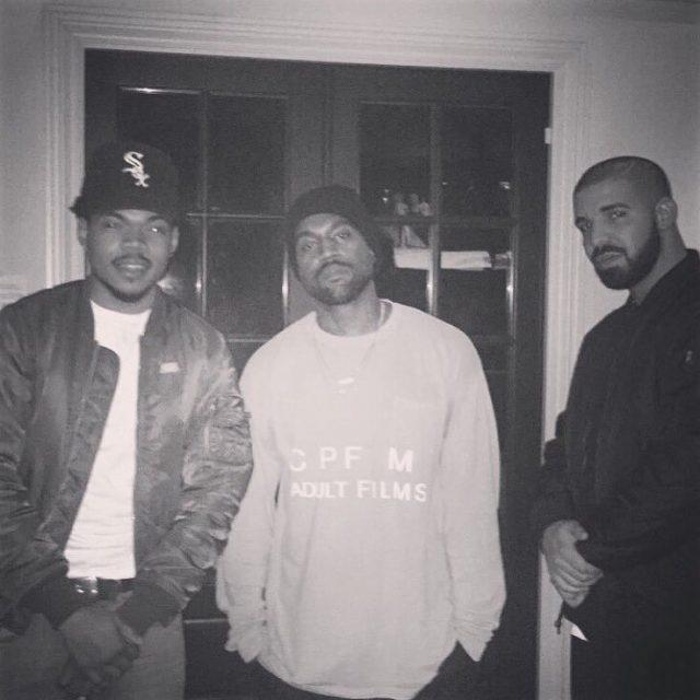 Chance The Rapper, Kanye West, Drake