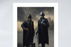 Daft Punk Selling Prints Of Their Portrait In The Weeknd's