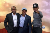 Watch Chance the Rapper Lead A Parade To Chicago Polls
