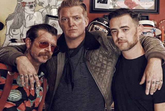 Jesse Hughes, Josh Homme, Colin Hanks