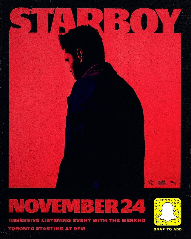 Lyric starboy lyrics : The Weeknd Announces Starboy Listening Party In Toronto - Stereogum