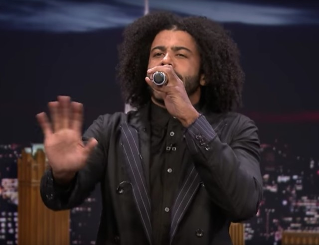 Daveed Diggs on The Tonight Show