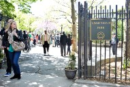 Brooklyn's Adam Yauch Park Defaced With Trump, Swastika Graffiti