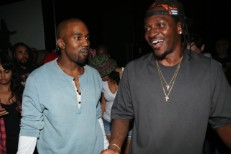 Kanye West and Pusha T