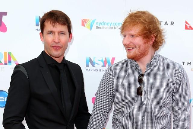 James Blunt & Ed Sheeran