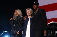Jay Z Performs For Clinton, Trump Blasts His Bad Language