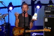 Watch Sting Play Police Hits And Receive The American Music Award Of Merit