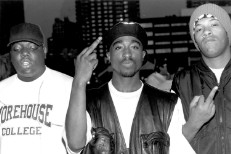 Tupac Shakur, The Notorius B.I.G., and Redman