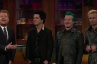 Watch Green Day Discuss Their Anti-Trump AMAs Chant On <em>James Corden</em>