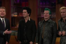James Corden and Green Day
