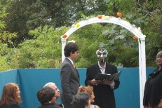 MF Doom Officiates Rapper Egon's Wedding