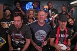 "Watch Metallica, The Roots, & Jimmy Fallon Play ""Enter Sandman"" On Toy Instruments"