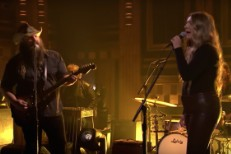 Morgane Stapleton and Chris Stapleton on The Tonight Show