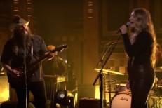 Morgane Stapleton and Chris Stapleton on The Tonight Show