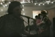 Watch An Unearthed Neutral Milk Hotel House Show From Halloween 1997