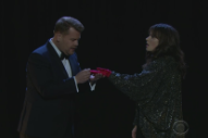 "James Corden And Zooey Deschanel Covered ""Endless Love"" But Instead Of ""Love"" They Sang ""Glove"" :("
