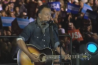 Watch Bruce Springsteen Perform At Hillary Clinton Rally In Philadelphia