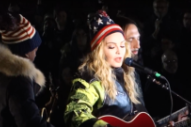 Watch Madonna's Surprise Set For Hillary Clinton In Washington Square Park