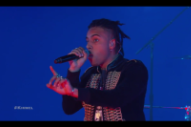 Watch Vic Mensa Let Off &#8220;16 Shots&#8221; With Travis Barker On <em>Kimmel</em>