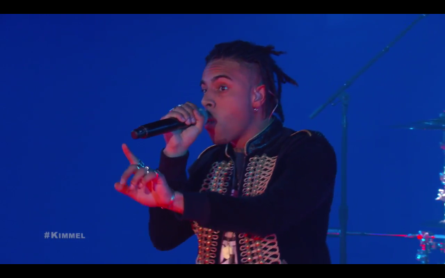 Vic Mensa on Kimmel