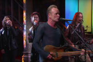 Watch Sting Bring &#8220;I Can&#8217;t Stop Thinking About You&#8221; To <em>Colbert</em>