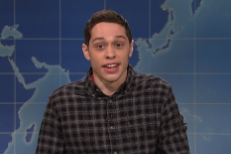 Watch Pete Davidson Mock Kanye West's Trump Comments On <em>SNL</em>