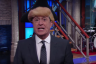 Watch Stephen Colbert&#8217;s Rap Musical About <em>Hamilton</em> &#038; Mike Pence