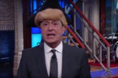 Watch Stephen Colbert's Rap Musical About <em>Hamilton</em> & Mike Pence