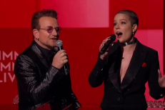 Watch Bono, Halsey, & Herbie Hancock Review 2016 In Song