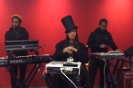 Watch Erykah Badu&#8217;s Performance And Interview In The <em>New York Times</em> Office
