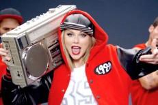 Taylor Swift, aspiring rapper
