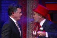 Watch Stephen Colbert & Jon Stewart's Live Musical Number About Voting