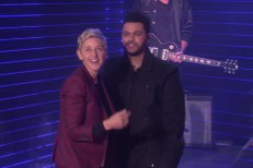 The Weeknd on Ellen