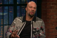Watch Common Talk Working With Stevie Wonder, Auditioning For Ava DuVernay At Obama&#8217;s Birthday Party On <em>Seth Meyers</em>