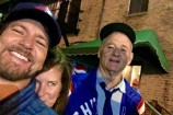 "Watch Eddie Vedder And Bill Murray Sing ""The Weight"" At Cubs Afterparty"