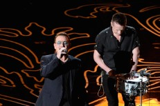 Bono and Larry Mullen Jr.