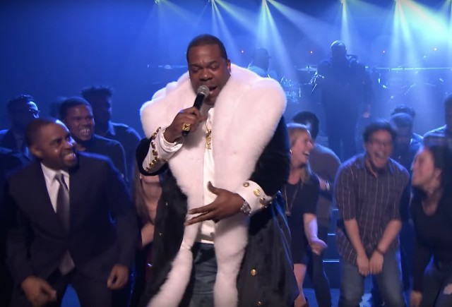 Busta Rhymes on The Tonight Show