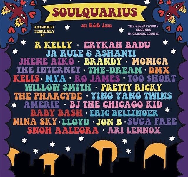Soulquarius 2017 Lineup