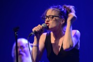 "Watch Fiona Apple Sing ""Money Changes Everything"" And Her Anti-Trump Christmas Song At Standing Rock Benefit In LA"