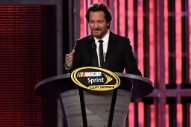 Watch Eddie Vedder's Surprise Appearance At NASCAR Awards