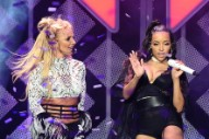 "Watch Britney Spears & Tinashe Perform ""Slumber Party"" Together For The First Time At KIIS FM Jingle Ball"