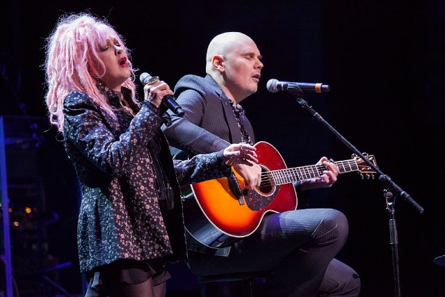 Cyndi Lauper & Billy Corgan