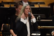 "Watch Patti Smith Cover Bob Dylan's ""A Hard Rain's A-Gonna Fall"" At Nobel Prize Award Ceremony"
