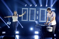 "Watch Sylvan Esso Play ""Radio"" On The TV"